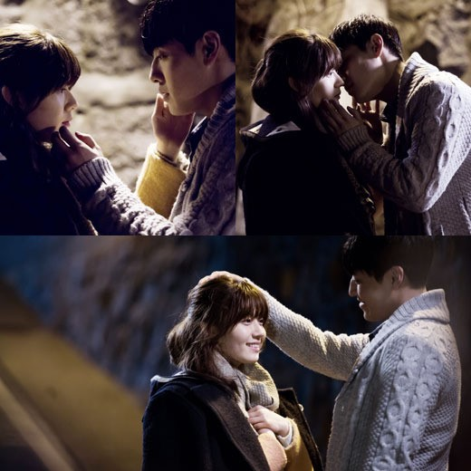 Kang Ha Neul and Nam Ji Hyun Kiss Scene