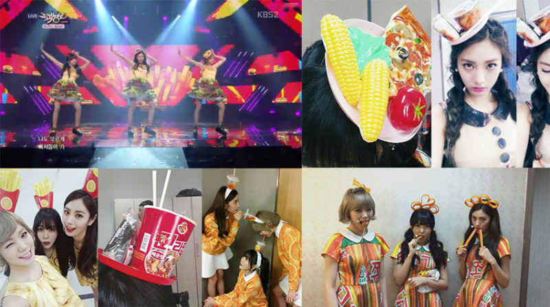"Top 8 Delicious Orange Caramel Outfits From ""Catallena"" Promotions"
