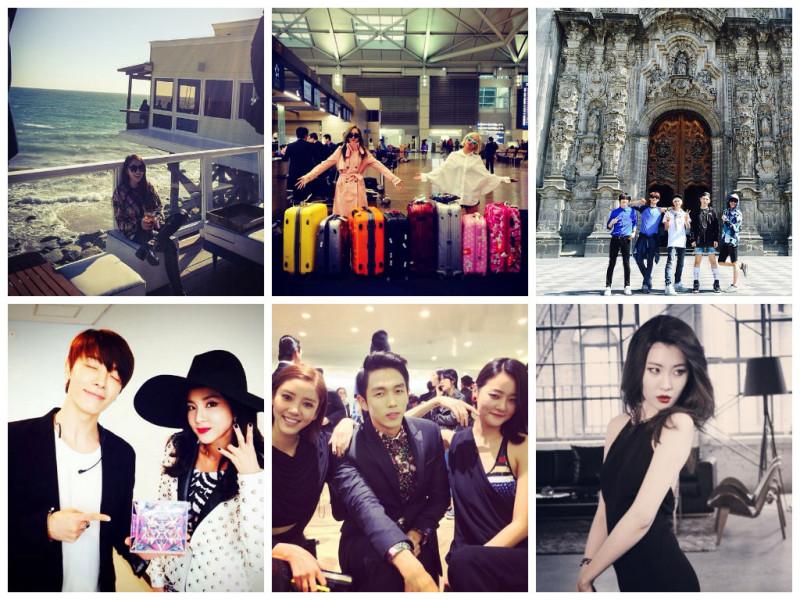 I Heart It: K-Pop Instagrams (Mar. 30 – Apr. 5)
