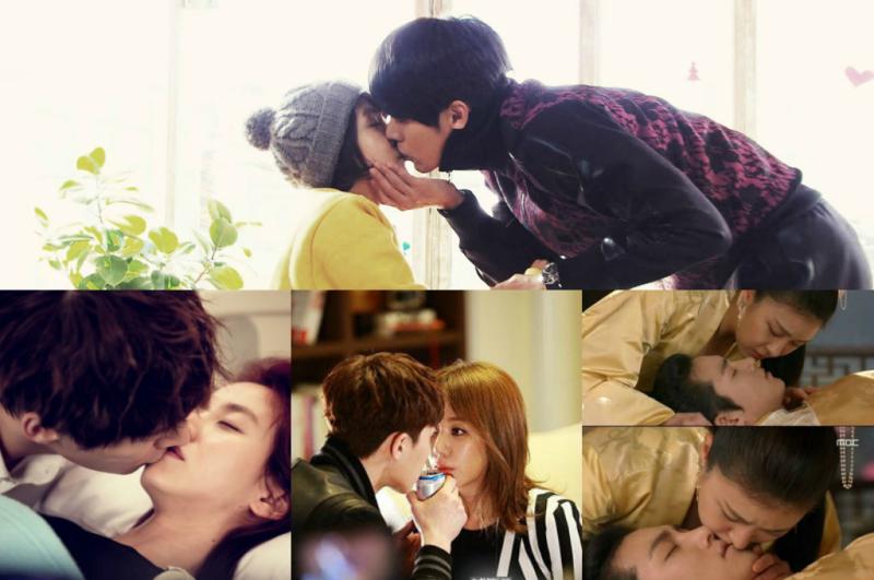 Eight Memorable K-Drama Kiss Scenes: Iris, Secret Garden, Empress Ki, and More!