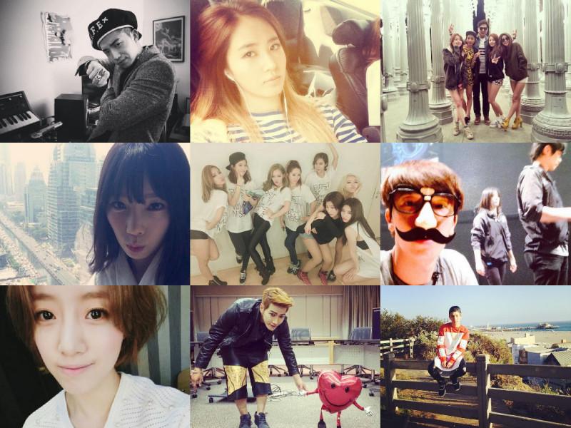 I Heart It: K-Pop Instagrams (Apr. 13 – Apr. 19)