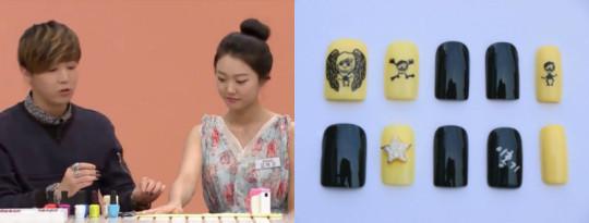 lee hongki ftisland nail art fin