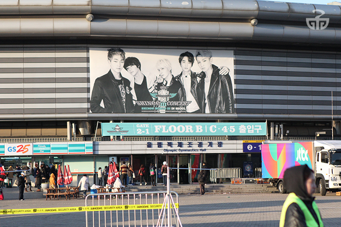 The 2014 SHINee concert at Olympic Park