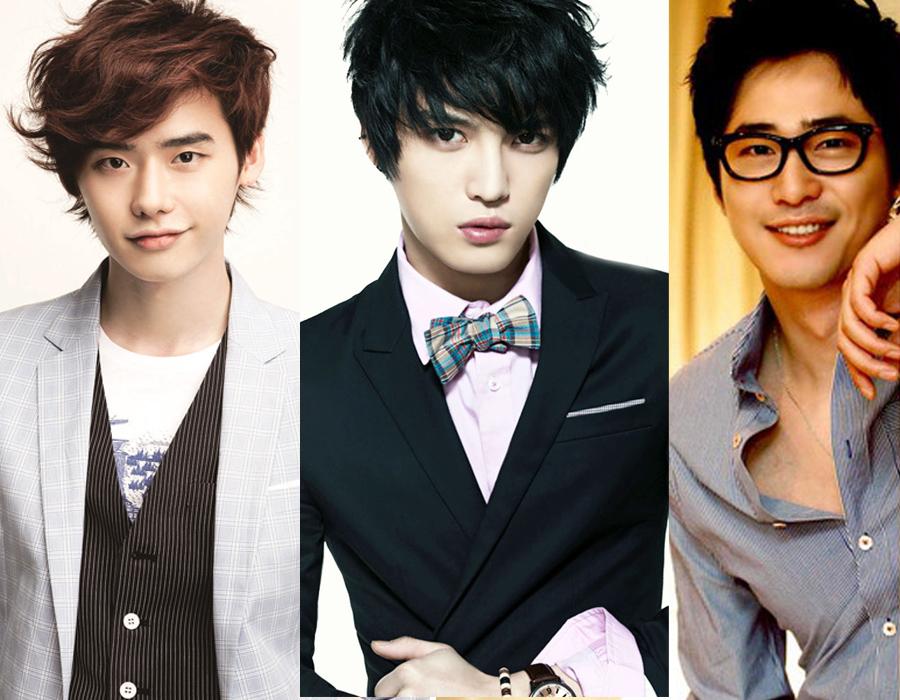Kim Jaejoong, Lee Jong Suk, Kang Ji Hwan