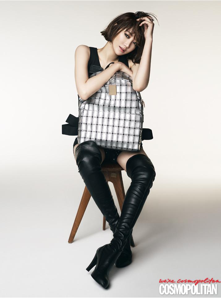 Go Jun Hee for Cosmo
