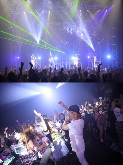M.i.b japanese concert