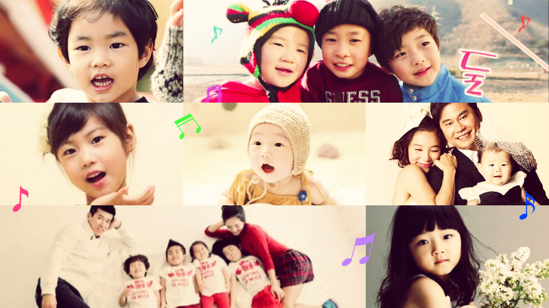 K-Entertainment Kids as Famous as Their Celebrity Parents