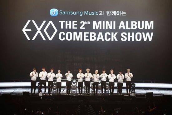 EXO's Comeback Show in Korea