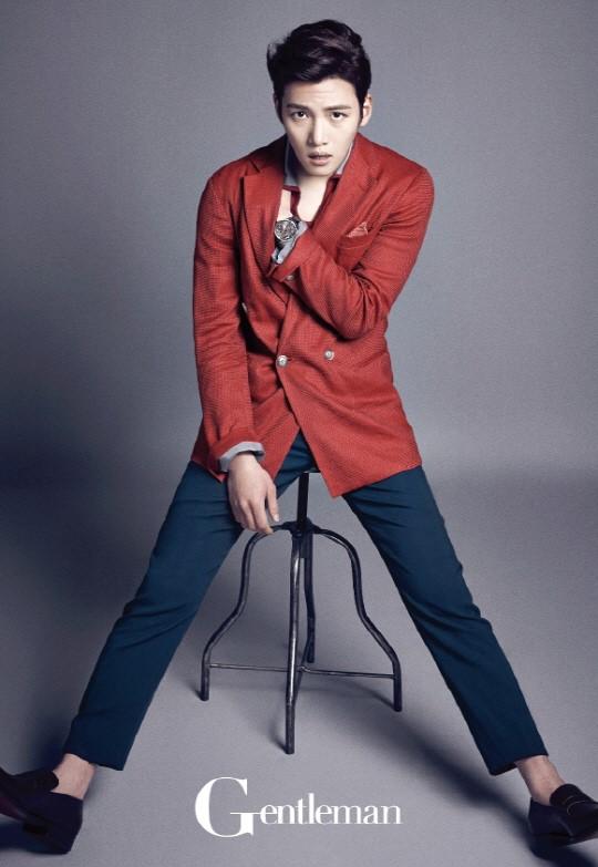 Ji Chang Wook for Gentleman