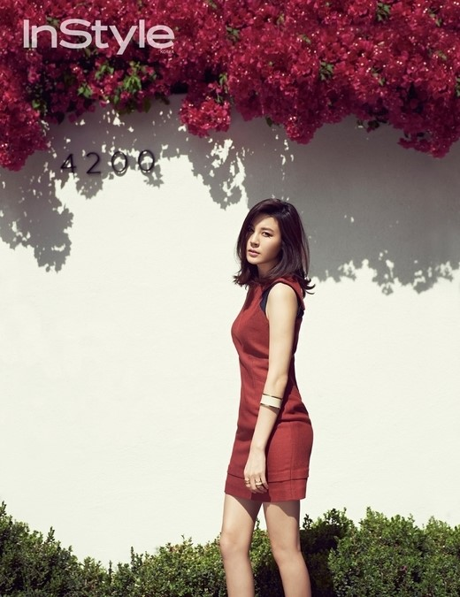 Kim Ha New for InStyle 2