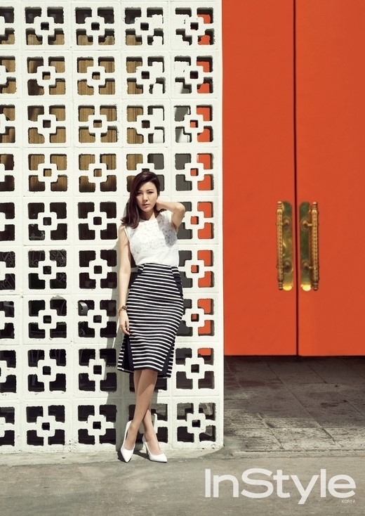 Kim Ha New for InStyle 3