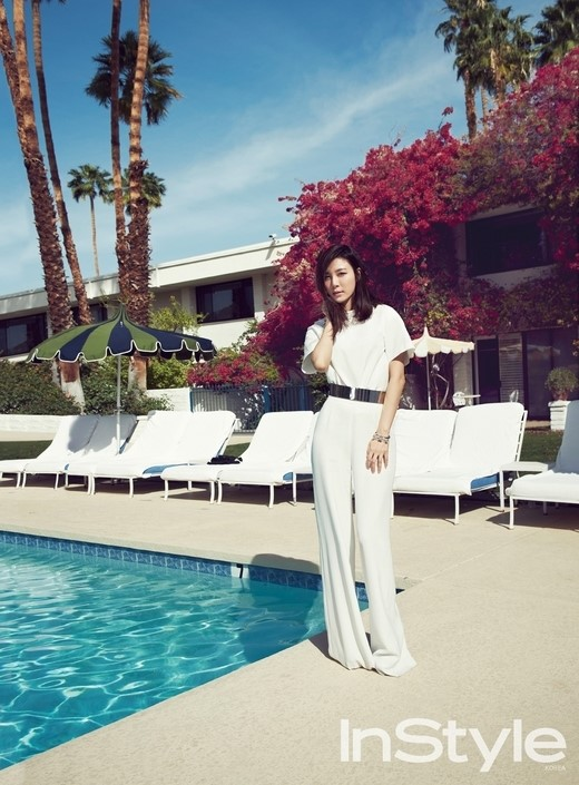 Kim Ha New for InStyle 4