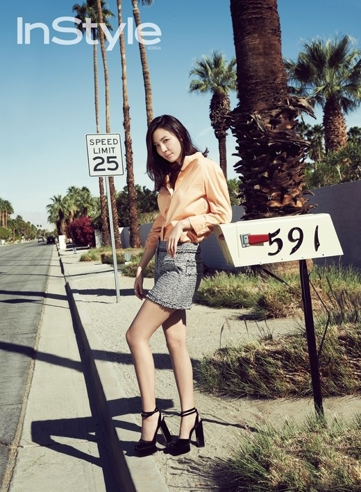 Kim Ha New for Instyle