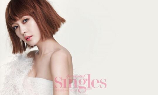 Sung Yuri for Singles