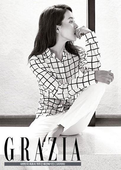 Song Ji Hyo for Grazia 3