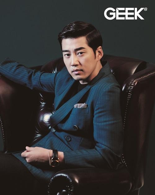 Yoon Kye Sang for Geek