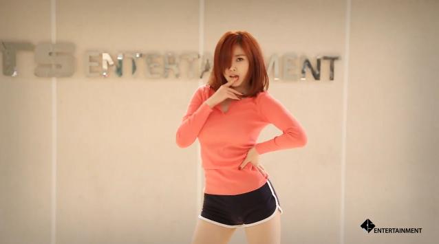 Hyosung Dance Practice