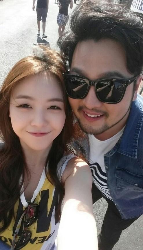 mina & kim tae woo
