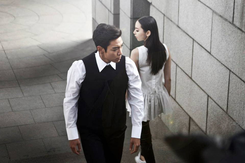 TOP and Sohee