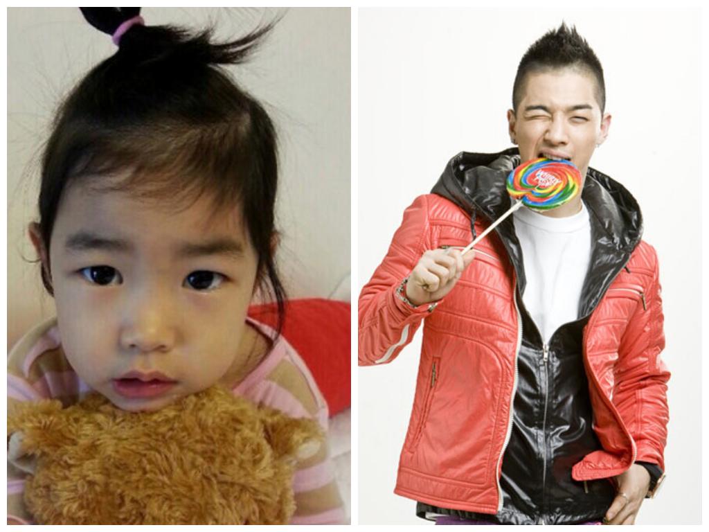 Tablo's Daughter Haru Gives BIGBANG's Taeyang a Kiss | Soompi