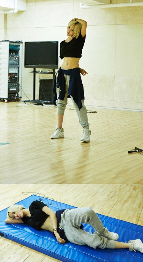 Hyomin_training