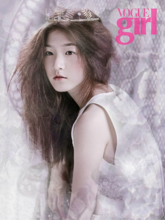 Kim Sae Ron for Vogue Girl 2
