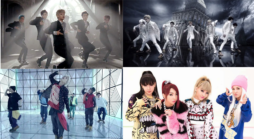 Popular MVs in US 2NE1, Vixx, Infinite, EXO