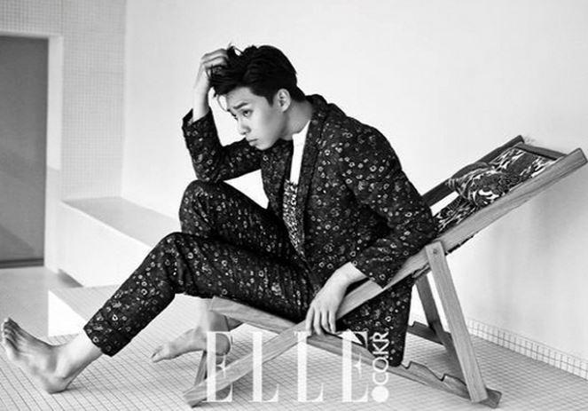 Park Seo Joon for Elle 2