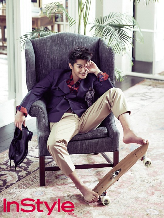 Seo In Guk for InStyle