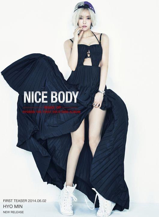 hyomin t-ara nice body