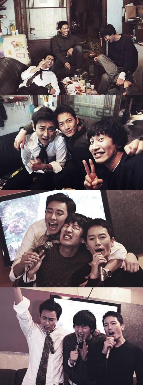 ji sung, joo ji hoon, lee kwang soo_good friends