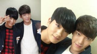 Park Hyung Sik Kim Woo Bin