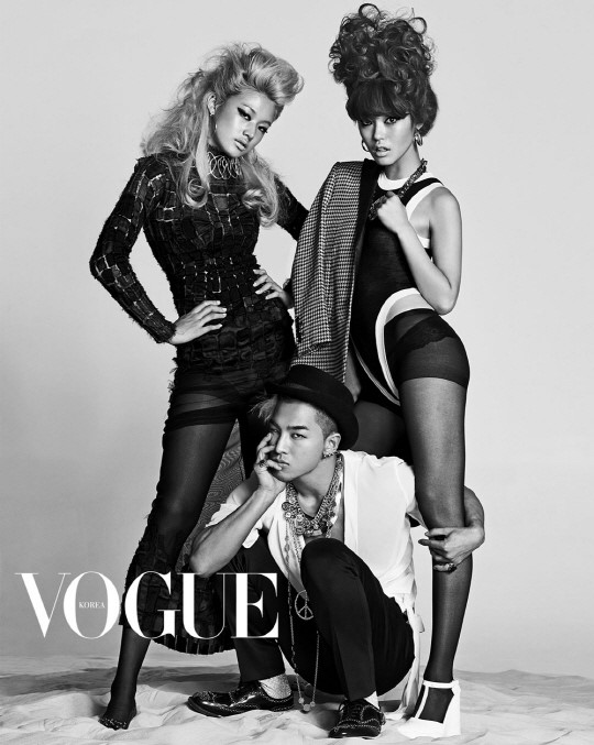 taeyang goes shirtless for his latest vogue pictorial soompi