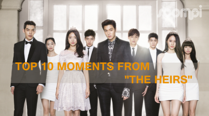 """Top 10 Moments from """"The Heirs"""""""