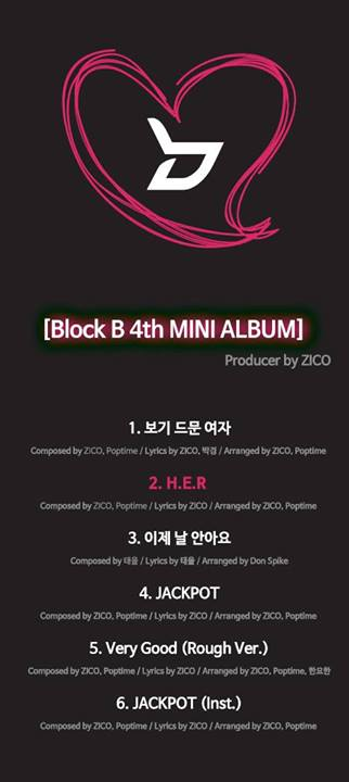 Block B teaser album
