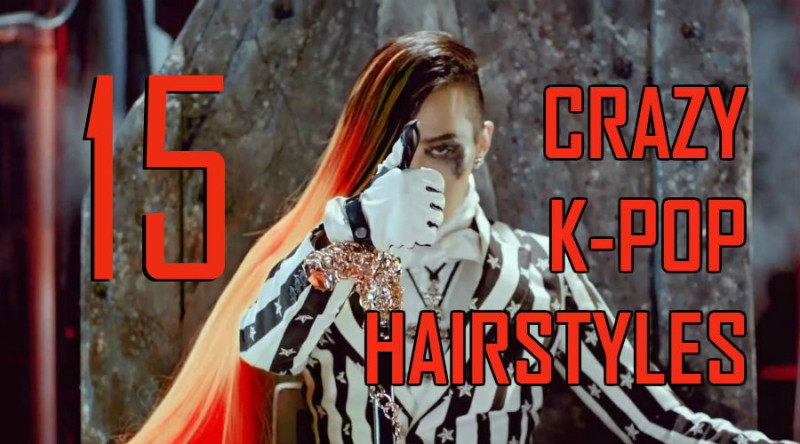 15 Crazy K-Pop Hairstyles