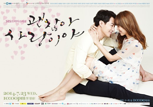 it's Okay It's Love Poster