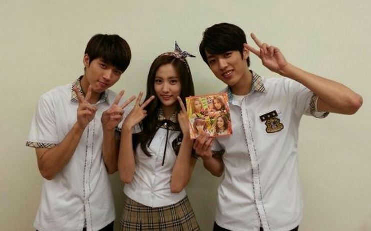 BESTie's Haeryung and INFINITE's Woohyun and Sungyeol Take ...