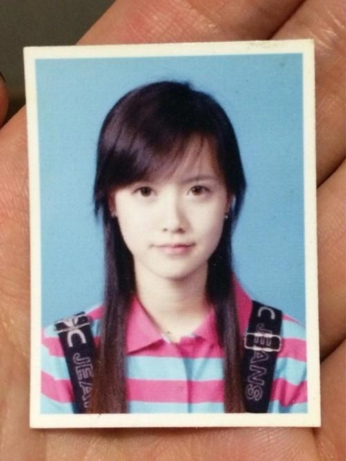 Goo Hye Sun's high school picture