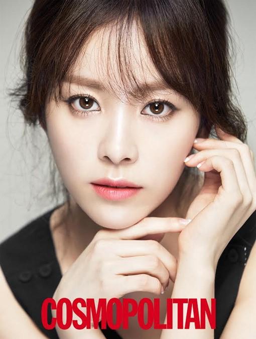 Han Ji Min for Cosmo