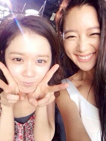 Jang Na Ra and Clara 2