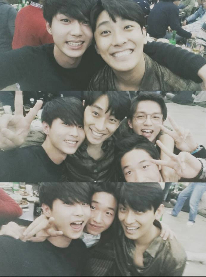 Joo Jihoon and Idol Group The BOSS's Jay