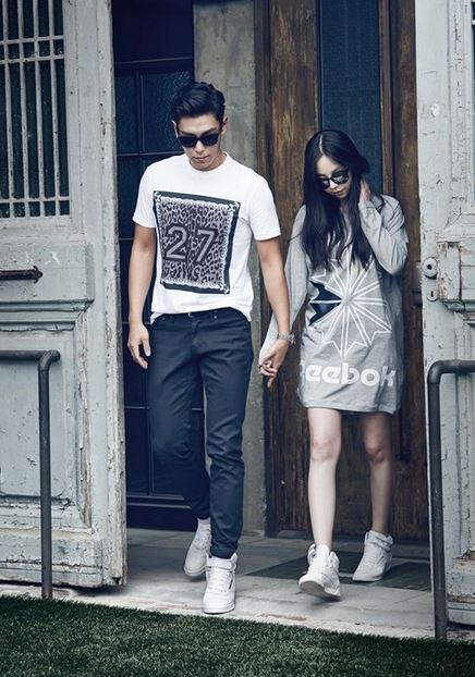 T.O.P and Sohee pic