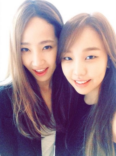 Yae Eun and Baek Ah Yeon