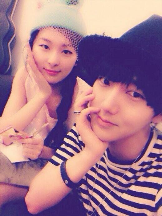 Yesung and Red Velvet's Seul Ki