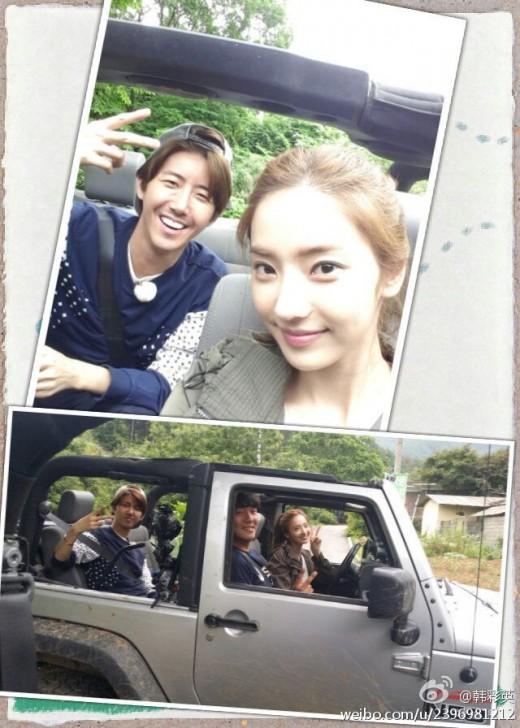 han chae young, kwanghee_off road