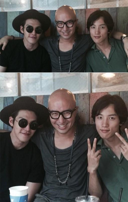 kim woo bin, hong seok cheon
