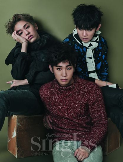 Teen Top Layers Up In Warm Fall Wear For Singles Magazine  Soompi-1436