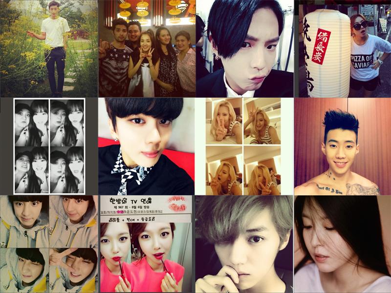 I Heart It: K-pop Instagram (August 3 – August 9)