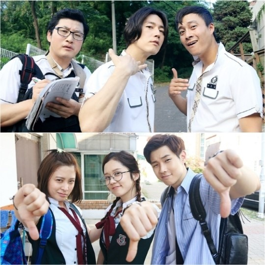 "Popular Drama ""Fated To Love You"" Stars Dress Up As High"